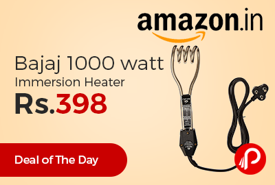 Bajaj 1000 watt Immersion Heater
