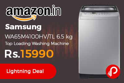 Samsung WA65M4100HV/TL 6.5 kg Top Loading Washing Machine