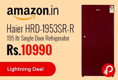 Haier HRD-1953SR-R 195 ltr Single Door Refrigerator