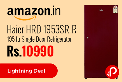 Haier HRD-1953SR-R 195 ltr Single Door Refrigerator