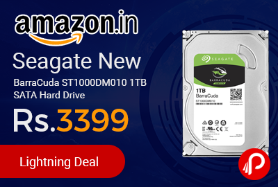 Seagate New BarraCuda ST1000DM010 1TB SATA Hard Drive