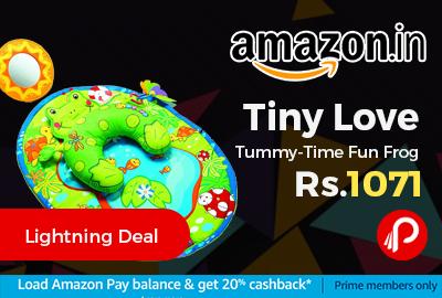 Tiny Love Tummy-Time Fun Frog