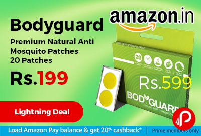 Bodyguard Premium Natural Anti Mosquito Patches 20 Patches
