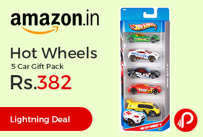 Hot Wheels 5 Car Gift Pack
