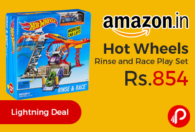Hot Wheels Rinse and Race Play Set