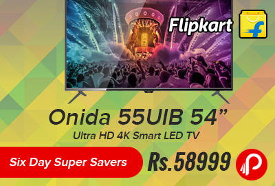 "Onida 55UIB 54"" Ultra HD 4K Smart LED TV"