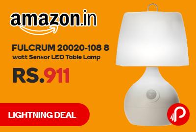 Fulcrum 20020-108 8 watt Sensor LED Table Lamp