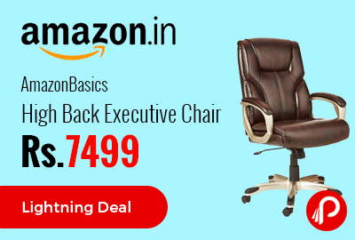 AmazonBasics High Back Executive Chair Just at Rs 7499 only