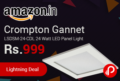 Crompton Gannet LSDSM-24-CDL 24 Watt LED Panel Light