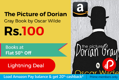 The Picture of Dorian Gray Book by Oscar Wilde