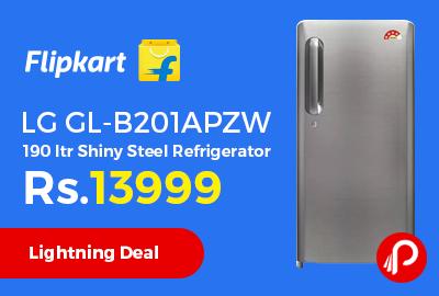 LG GL-B201APZW 190 ltr Shiny Steel Refrigerator