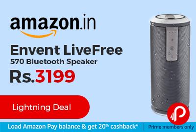 Envent LiveFree 570 Bluetooth Speaker