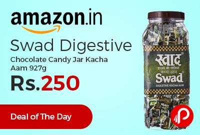 Swad Digestive Chocolate Candy Jar Kacha Aam 927g