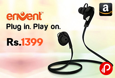Envent LiveTune In-Ear Bluetooth Headphones with Mic