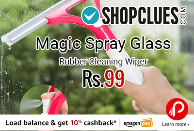 Magic Spray Glass Rubber Cleaning Wiper