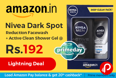 Nivea Dark Spot Reduction Facewash + Active Clean Shower Gel