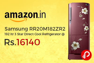 Samsung RR20M182ZR2 192 ltr 3 Star Direct Cool Refrigerator