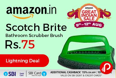 Scotch Brite Bathroom Scrubber Brush