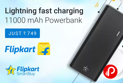 Flipkart SmartBuy 11000 mAh Power Bank