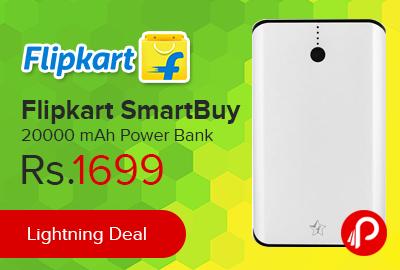 Flipkart SmartBuy 20000 mAh Power Bank