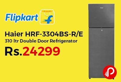 Haier HRF-3304BS-R/E 310 ltr Double Door Refrigerator