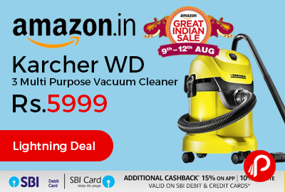 Karcher WD 3 Multi Purpose Vacuum Cleaner