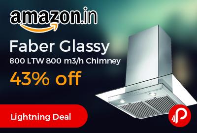 Faber Glassy 800 LTW 800 m3/h Chimney