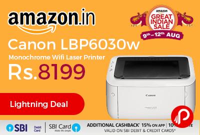 Canon LBP6030w Monochrome Wifi Laser Printer