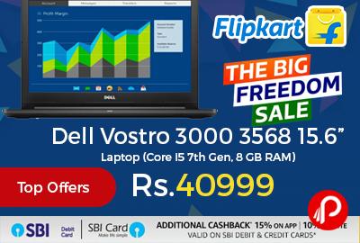 "Dell Vostro 3000 3568 15.6"" Laptop"
