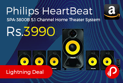 Philips HeartBeat SPA-3800B 5.1 Channel Home Theater System