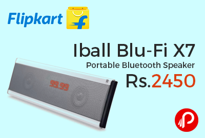 Iball Blu-Fi X7 Portable Bluetooth Speaker