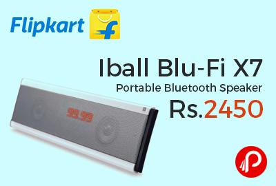 Iball Blu-Fi X7 Portable Bluetooth Speaker