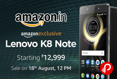 Lenovo K8 Note Mobile