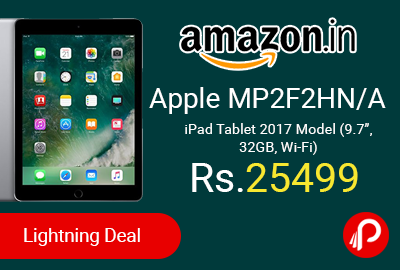 Apple MP2F2HN/A iPad Tablet 2017 Model