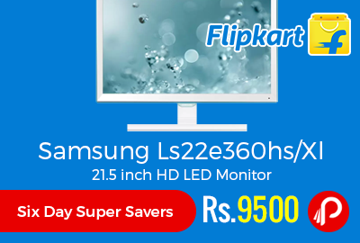 Samsung Ls22e360hs/Xl 21.5 inch HD LED Monitor