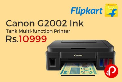 Canon G2002 Ink Tank Multi-function Printer