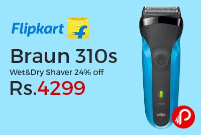 Braun 310s Wet&Dry Shaver
