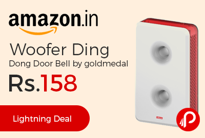 Woofer Ding Dong Door Bell by goldmedal