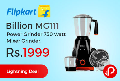 Billion MG111 Power Grinder 750 watt Mixer Grinder