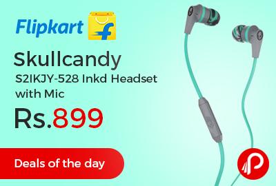 Skullcandy S2IKJY-528 Inkd Headset with Mic