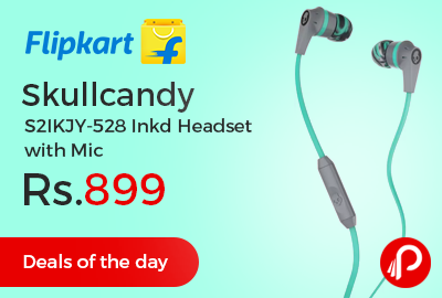 Skullcandy S2IKJY-528 Inkd Headset with Mic