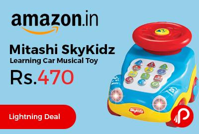 Mitashi SkyKidz Learning Car Musical Toy