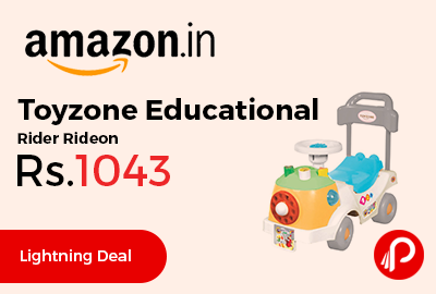 Toyzone Educational Rider Rideon