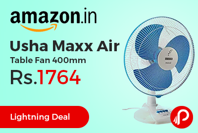 Usha Maxx Air Table Fan 400mm