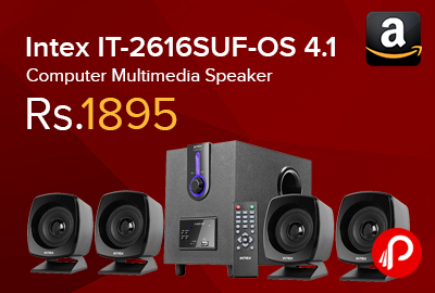Intex IT-2616SUF-OS 4.1 Computer Multimedia Speaker