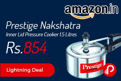 Prestige Nakshatra Inner Lid Pressure Cooker 1.5 Litres