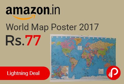 World Map Poster 2017