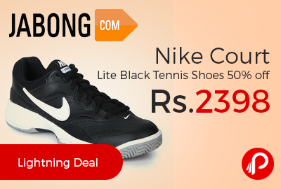 Nike Court Lite Black Tennis Shoes