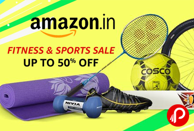 Up to 50% off Sports & Fitness products