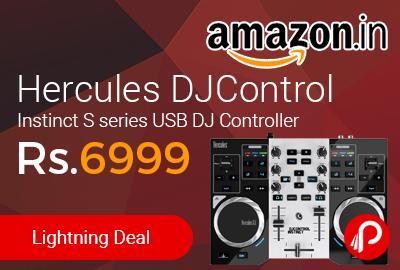 Hercules DJControl Instinct S series USB DJ Controller